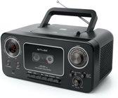 Muse M-182 RDC - Draagbare Radio/CD/Cassette speler