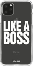 Casetastic Smartphone Hoesje Softcover Apple iPhone 11 Pro Max - Like a Boss
