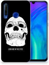 Honor 20 Lite Silicone Back Case Skull Eyes