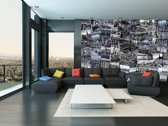 New York  - Creative Collage 27.5 x 37.5 cm