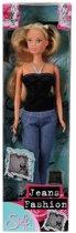 Steffi Jeans Fashion zwart