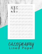 Calligraphy Lined Paper