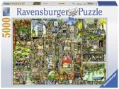 Ravensburger Colin Thompson Bizarre stad - Puzzel van 5000 stukjes