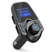 Bluetooth FM Transmitter voor in de auto - ZT – Handsfree bellen carkit met AUX / SD kaart / USB - Ingangen - Bluetooth Handsfree Carkits / adapter / auto bluetooth / LCD Display - T11 FM Transmitter