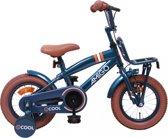 Amigo 2cool - Kinderfiets - Jongens - Blauw - 12 Inch
