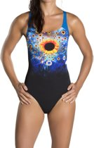 thumbnail Antigravity placement digital powerback swimsuit - maat 36