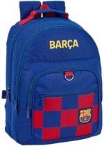 FC Barcelona Rugzak - 42 x 32 x 16 cm - Blauw
