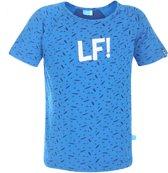 Lief!  Jongens T-shirt - Blauw - Maat 68
