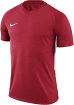Nike Tiempo Premier SS Jersey  Sportshirt performance - Maat S  - Mannen - rood