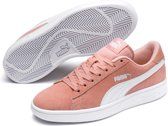 PUMA Smash V2 Sd Jr Sneakers Kinderen - Peach Bud / Puma White - Maat 38.5