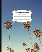 Journal Goods Lined Notebook