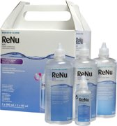 ReNu MPS sensitive eyes Multipack - 3 x 360 ml + 60 ml + 4 lenshouders - Lenzenvloeistof