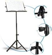 ForDig - Opklapbare Muziekstandaard - Lessenaar voor bladmuziek - Inclusief Tas met schouderband
