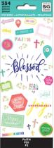 Me and My Big idea's - Happy Planner Stickers - Blessed