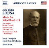 Music For Wind Band, Vol. 19