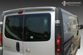 AutoStyle Dakspoiler Nissan Primastar/NV300 & Opel Vivaro & Renault Trafic & Fiat Talento (Modellen met achterdeuren) (PU)