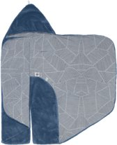 Snoozebaby Wikkeldeken Trendy Wrapping (80x80cm) Indigo