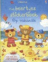 Beertjes stickerboek op vakantie