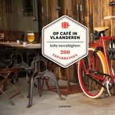 Boek cover Op café in Vlaanderen van Sofie Vanrafelghem
