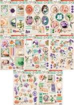 8x So Spring - A4 Foto/Labels/3D Stansvellen - Geen schaar meer nodig!