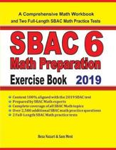 SBAC 6 Math Preparation Exercise Book