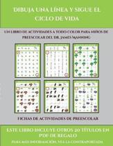 Fichas De Actividades De Preescolar (Dibuja Una Linea Y Sigue El Ciclo De Vida)