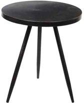 Mica Decorations ronde tafel zwart maat in cm: 40 x 35
