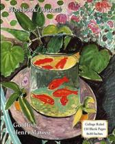 Notebook/Journal - Goldfish - Henri Matisse