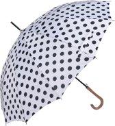 Paraplu ø 93*90 cm Wit   MLUM0025W   Clayre & Eef