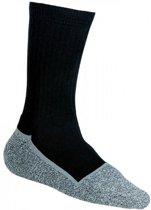 Werksokken, M-Wear Ernesto Worker Sok 1250 Zwart/grijs,39/42