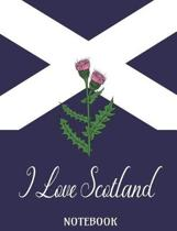 I Love Scotland - Notebook