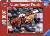 Ravensburger puzzel Disney Cars, autos autos! - Legpuzzel - 100 stukjes
