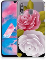 Samsung Galaxy M30 TPU Case Roses
