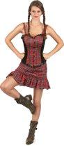 Schotse jurk voor vrouwen - Verkleedkleding - Small
