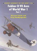 Fokker D VII Aces of World War I