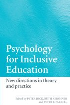 Psychology for Inclusive Education