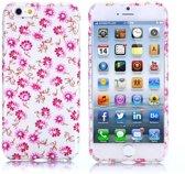 Gel print hoesje iPhone 6 Plus elegance flowers
