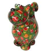 Sweetie Cat Sweet Dorothy | Koekjestrommel - Kat - groen met taart | Pomme pidou