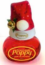 Poppy Luchtverfrisser Cattleya met kerstmuts - Poppy Grace Mate - Poppy - Poppy Luchtverfrisser - Kerstmuts met Poppy - Originele kerstmuts - Vrachtwagen Accessoires - Luchtverfrisser Huis - Wonen - Boot - WC
