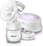 Philips Avent SCF332/01 - Enkele elektrische borstkolf met Philips Avent babyfles (125 ml)