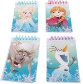 Disney Notitieblokjes Frozen 4-delig