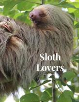Sloth Lovers 100 page Journal: Large notebook journal with 3 yearly calendar pages for 2019, 2020 and 2021 Makes an excellent gift idea for birthdays