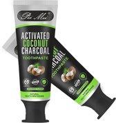 Pei Mei® - Teeth Whitening Tandpasta - Charcoal - Kokos - Houtskool - Tandpasta - voor witte tanden - Charcoal Coconut Toothpaste (100 ml)