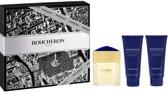 Boucheron pour Homme Gift set Eau De Perfume Spray 100ml Set 3 Pieces 100 ml after schave balm + 100 ml shower gel