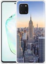 Samsung Galaxy Note 10 Lite Hoesje Skyline NY