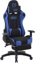 Clp Turbo XFM - Bureaustoel - Stof - zwart/blauw