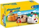 Playmobil 123 Vrolijke Dierentrein - 6767