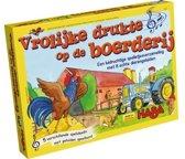 Spel - Geluidenspelletjesverzameling - Vrolijke drukte op de boerderij (Nederlands) = Duits 5414 - Frans 7598
