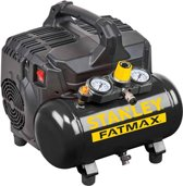 STANLEY FATMAX - OLIEVRIJE COMPRESSOR - LOW NOISE - 1 pk / 6 L / 8 bar - 59 dB