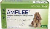 Amflee Spot-on Hond - 134 mg - 3 pipetten